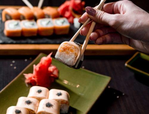 Роллы и суши