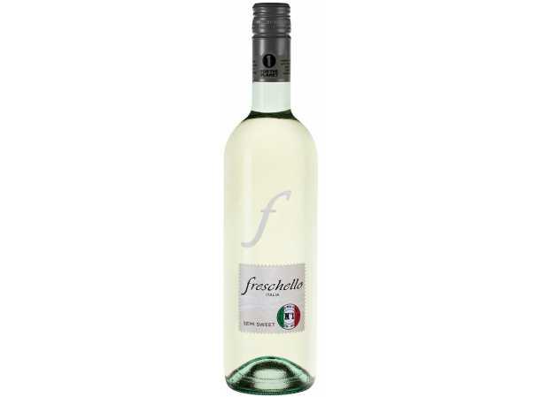 Белое вино Фрескелло Бьянко п-сухое Италия 750 мл