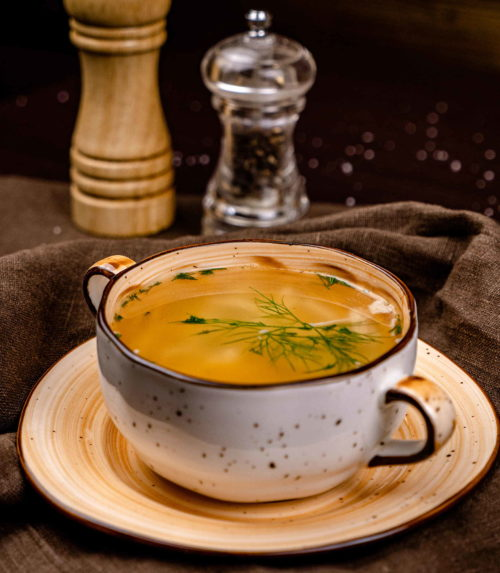 Домашняя суп-лапша с курицей доставка в Орле ресторан Лабиринт