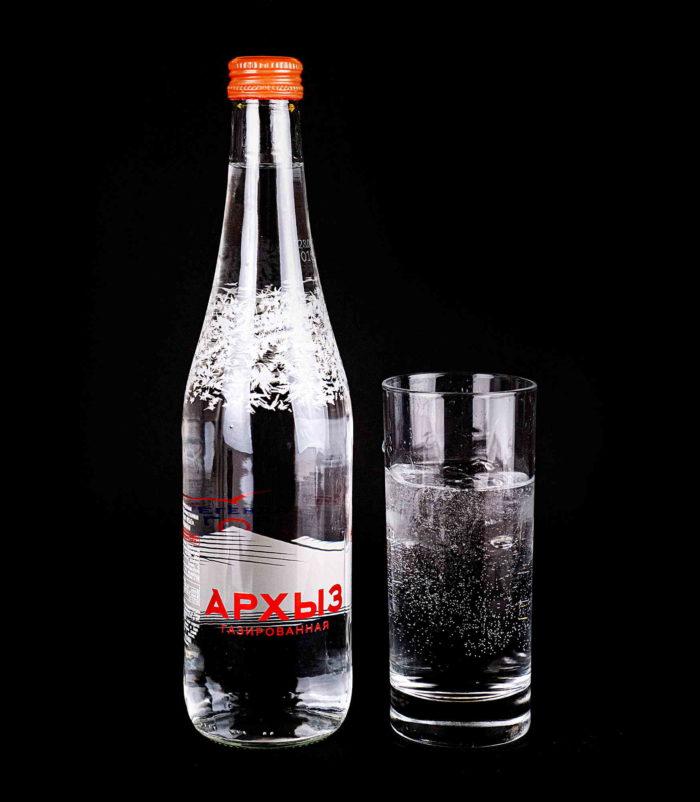 Минеральная вода Архыз с газом доставка в Орле ресторан Лабиринт