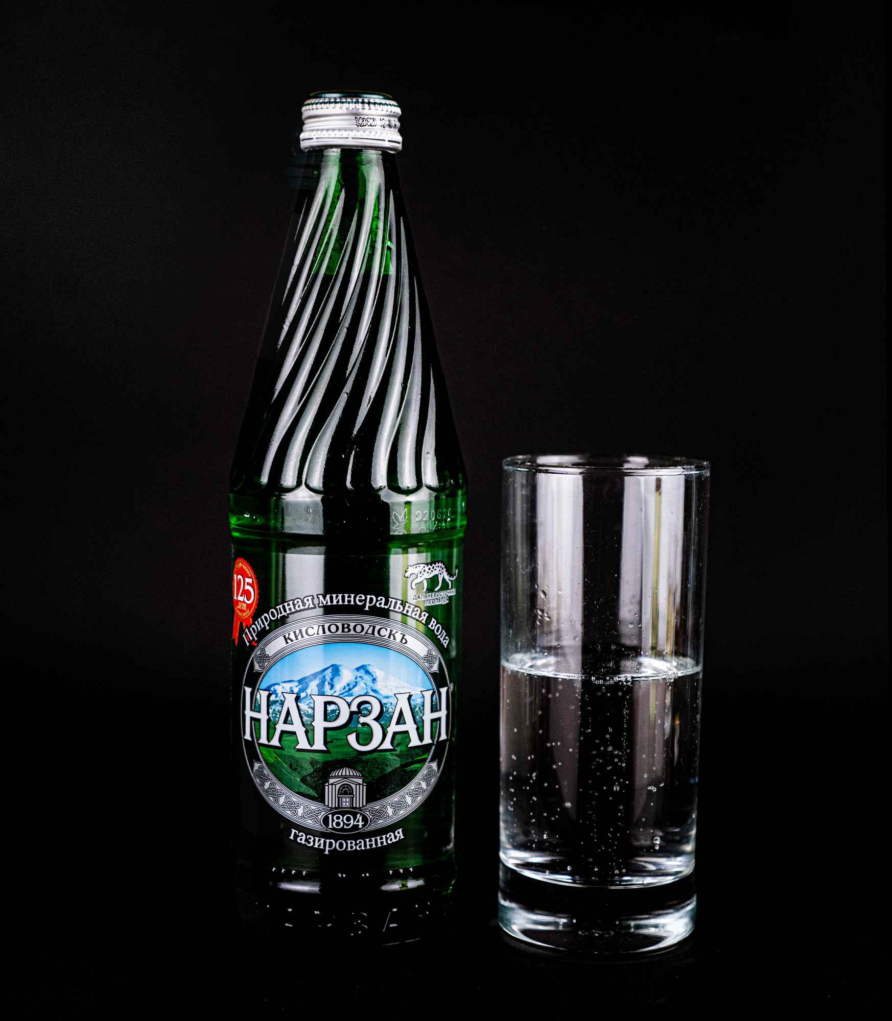 Минеральная вода Нарзан с газом доставка в Орле ресторан Лабиринт