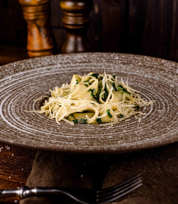 Паста со шпинатом Доставка в Орле ресторан Лабиринт