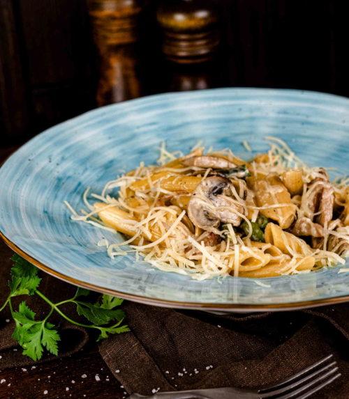 Паста со свининой Доставка в Орле ресторан Лабиринт