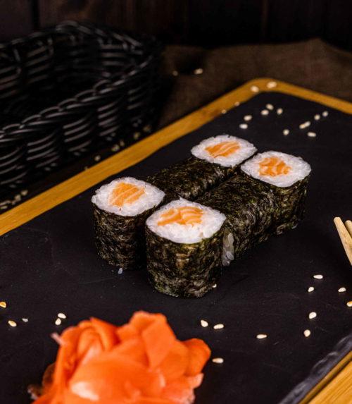 Ролл с лососем Доставка Суши Роллов В Орле ресторан Лабиринт