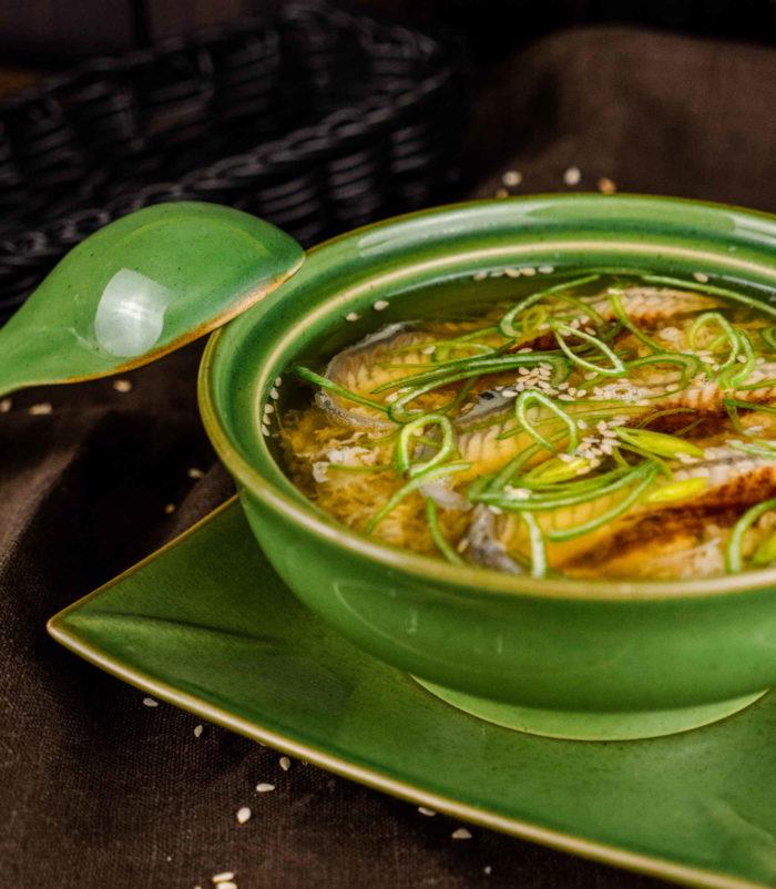 Суп Янгава Набэ доставка суши роллов в Орле ресторан Лабиринт