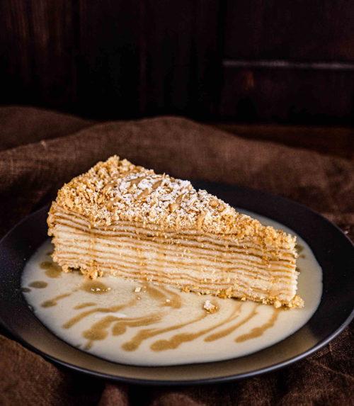 Торт Наполеон Заказать торт ресторан Лабиринт