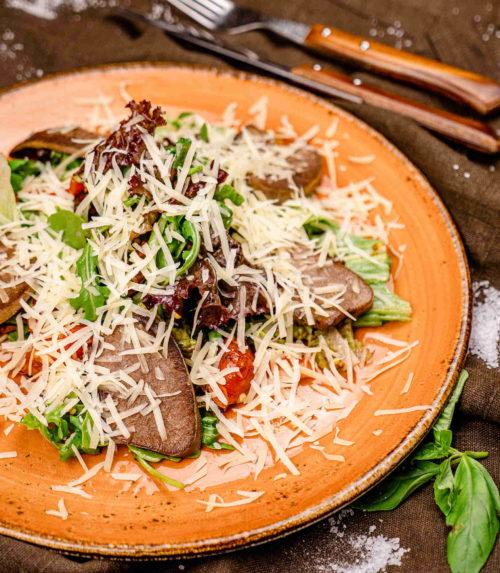 Тёплый салат доставка в Орле ресторан Лабиринт