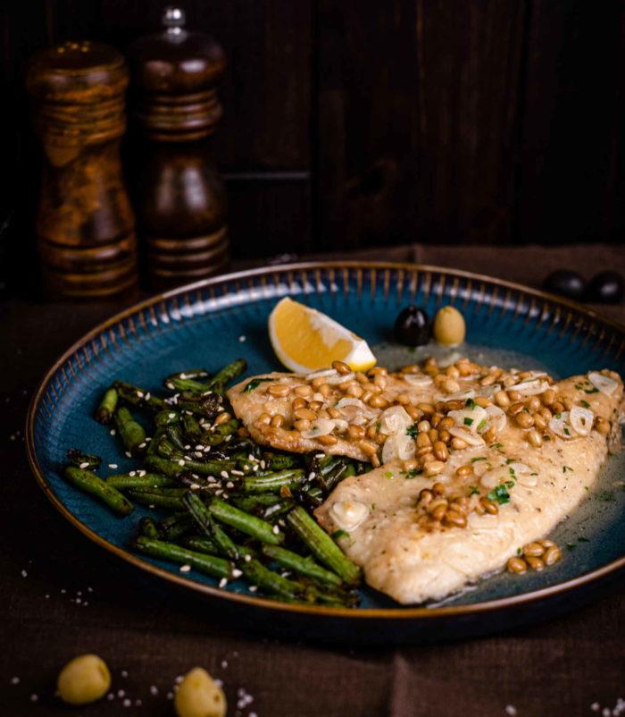 Белая рыба в вине доставка ресторан Лабиринт в Орле