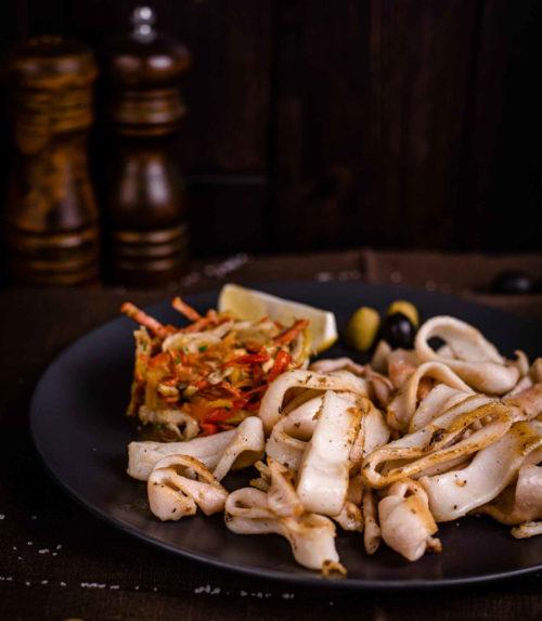 Кальмары-гриль доставка ресторан Лабиринт в Орле