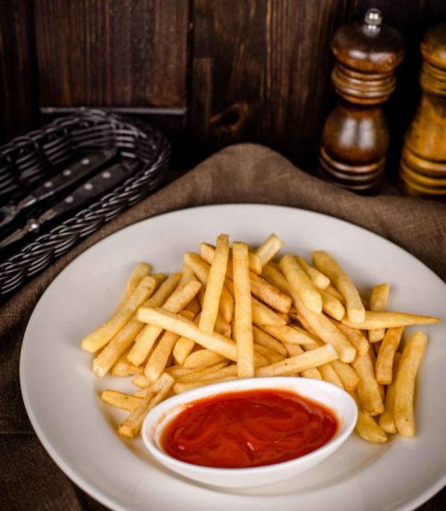 Картофель фри с кетчупом доставка ресторан лабиринт в Орле