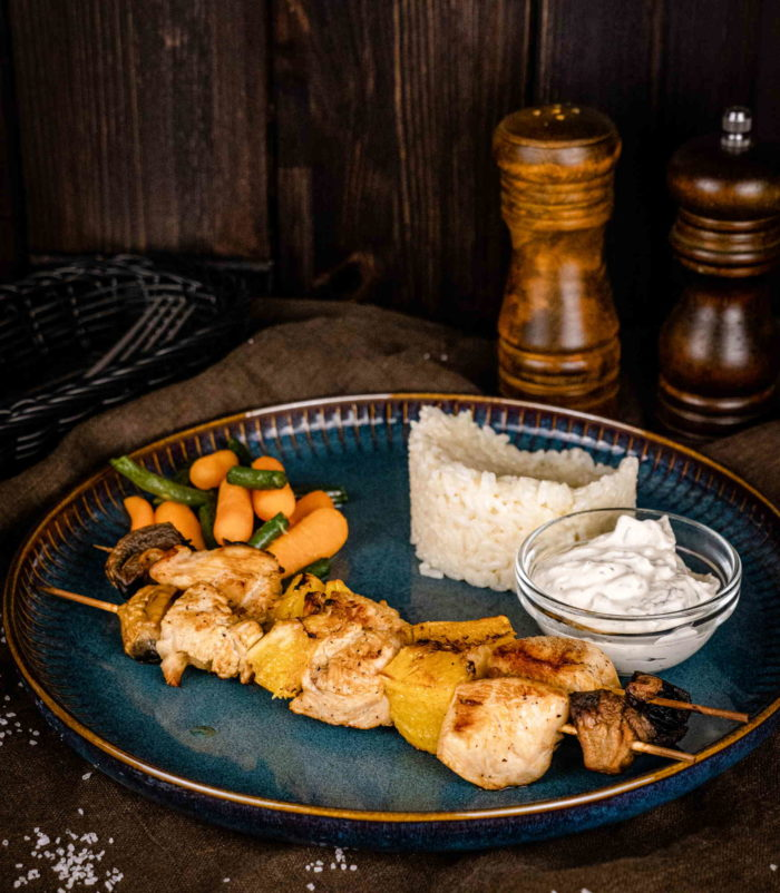 Куриный шашлык с апельсинами доставка ресторан Лабиринт