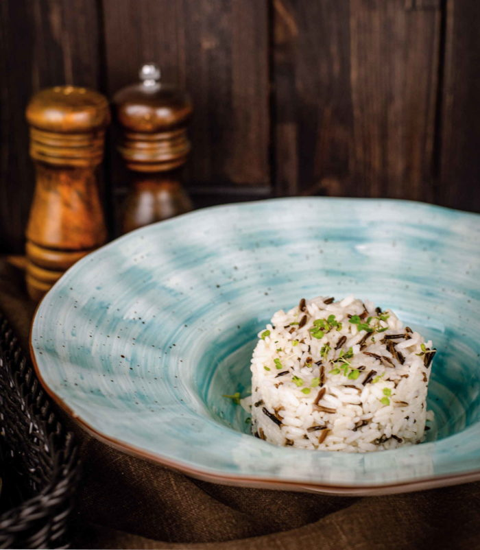 Микс из чёрного и белого дикого риса доставка ресторан лабиринт в Орле