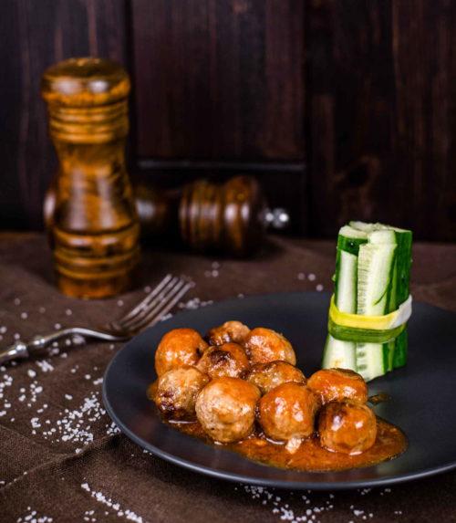 Мясные мячики доставка детское меню ресторан лабиринт в орле