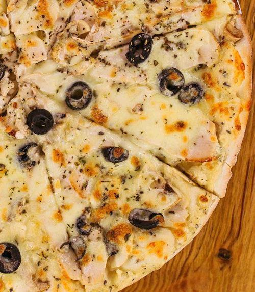 Пицца Курица грибы доставка пиццы в Орле Лабиринт