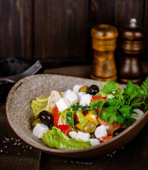 Салат Греческий доставка в Орле ресторан Лабиринт