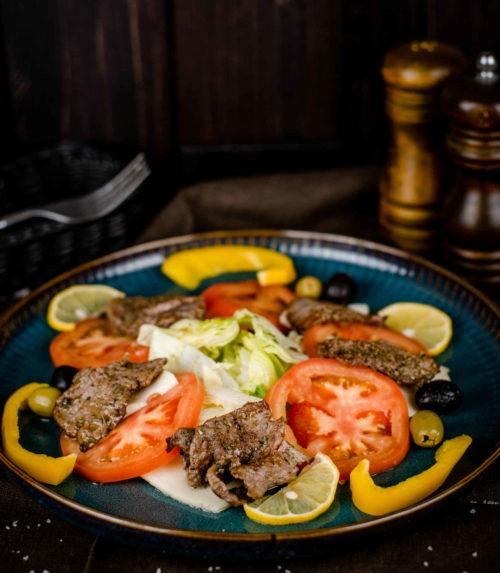 Салат Сицилийский тёплый доставка в Орле ресторан Лабиринт