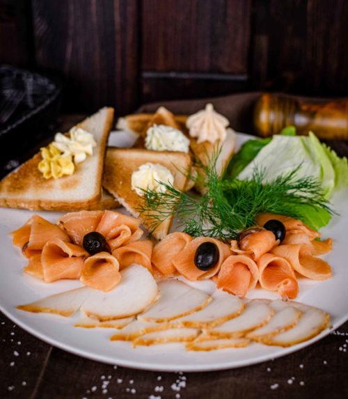 Сет Рыбное ассорти доставка ресторан лабиринт в Орле