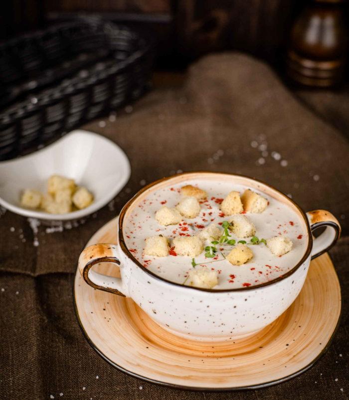 Сливочный суп Велюте доставка в Орле ресторан Лабиринт