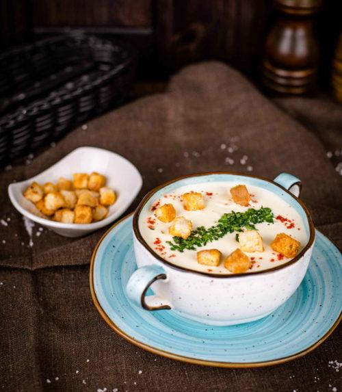 Суп Сырный доставка в Орле ресторан Лабиринт